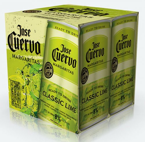 Cuervo Classic Lime Margarita 4pk Cans